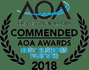 Commended AOA Awards Best Business Partner 2018