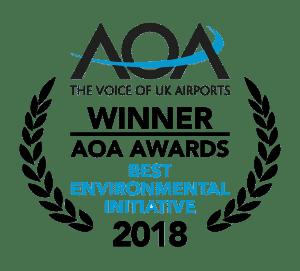 AOA Winner of Best Environmental Initiative 2018