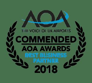 AOA Winner of Best Business Partner 2018