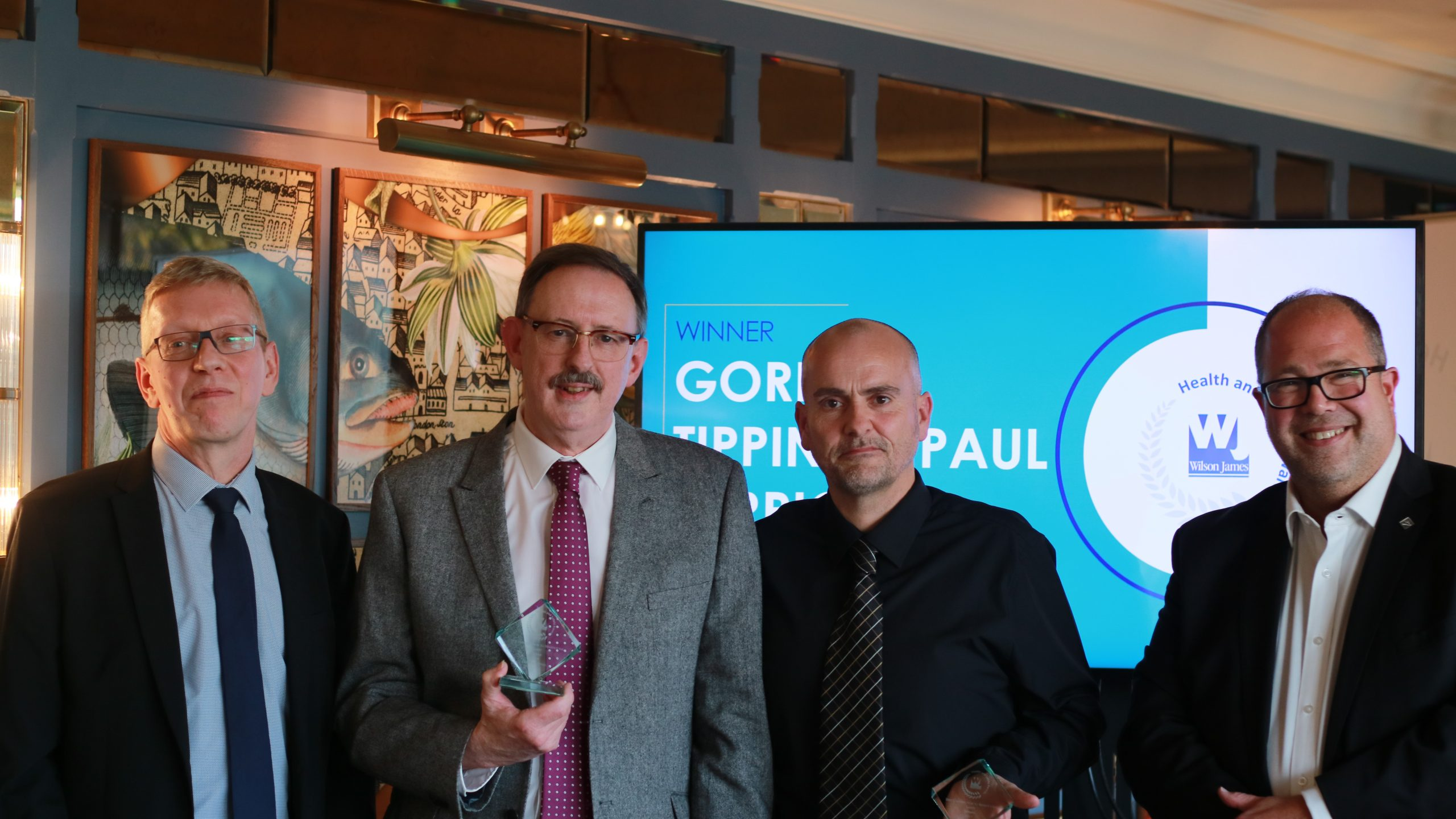 BEST CONTRIBUTION TO BEHAVIOURAL SAFETY: GORDON TIPPINS & PAUL BERRIGAN