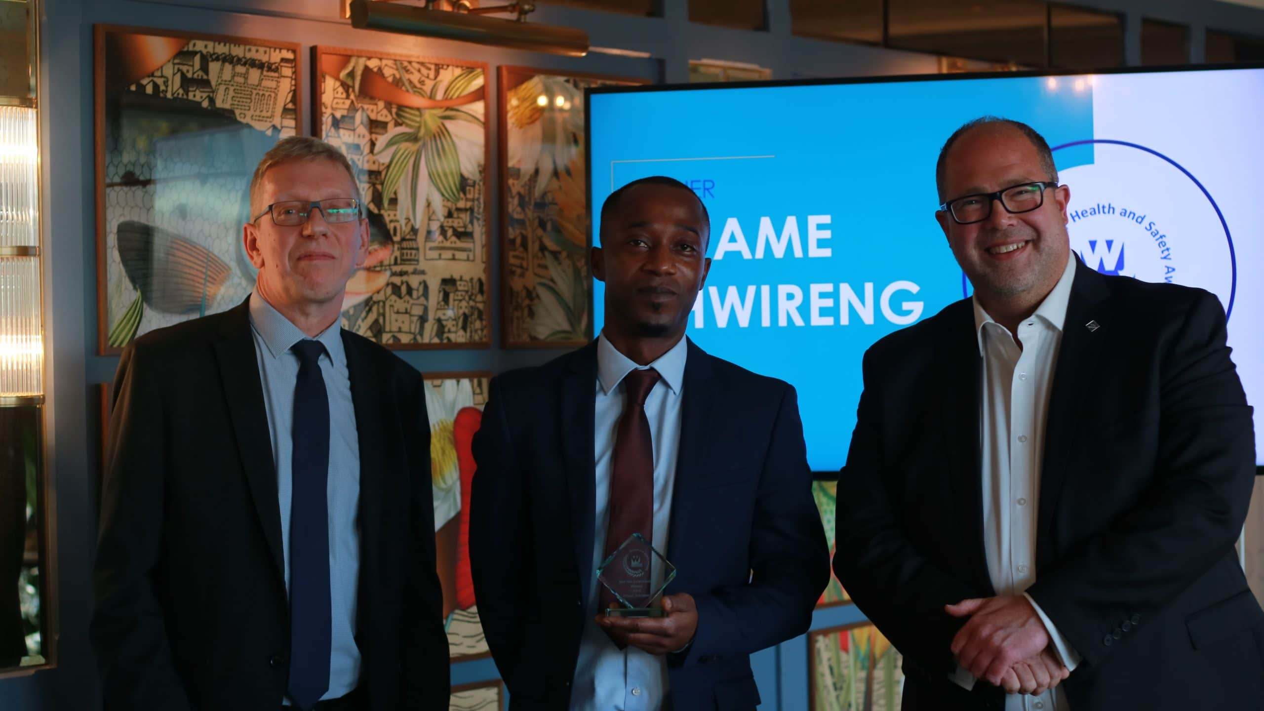 BEST SITE IMPROVEMENT: KWAME AHWIRENG